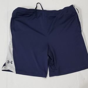 Under Armour blue and gray shorts Men's size Large
